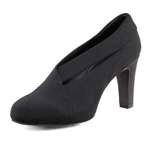 Eileen Fisher Peek Stretch Grosgrain Ankle